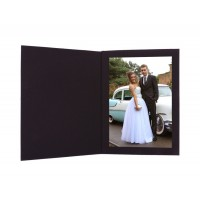 5x7  Broadway Black Photo Folder
