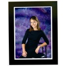Black Cardboard Photo Easel Frame | Downtown Style | Size 5x7