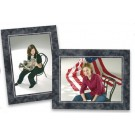 MarbleCardboard Photo Easel Frame | Midtown Style | Size 5x7