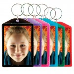 Sparkle Color Photo Key Chains