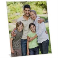 8x10 Clear Acrlic Bent Easel Frame