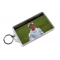 "2"" x 3-1/2"" Clear Acrylic Photo Key Chains"