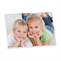7x5 Clear Acrlic Bent Easel Frame