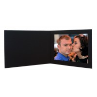 8x10  Broadway Black Photo Folder
