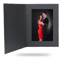 8x10 Imperial Black Photo Folder - 25 Pack 3